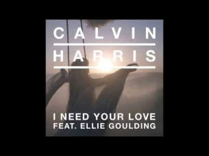 Calvin Harris ft. Ellie Goulding - I Need Your Love Lyrics