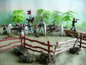 Battle of Gettysburg 3rd Day East Cavalry Field Toy Soldiers Wargame