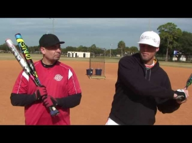 Softball Hitting   Miguel's Hitting Lesson/Makeover SM# 15