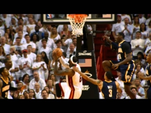 Phantom: LeBron James' HUGE And-1 Reverse Slam