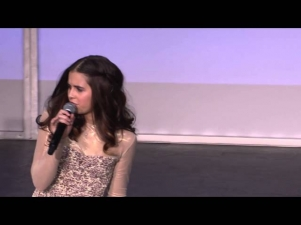 Carly Rose Sonenclar performs