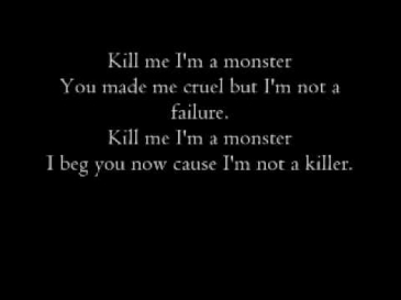 AWIM - Kill Me I'm A Monster (Lyrics)