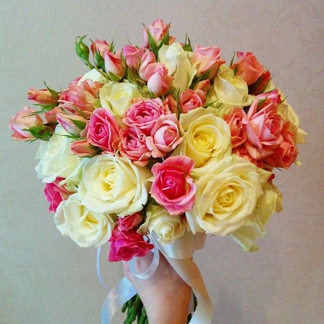 Букет из белых роз клип