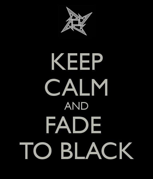 Fade To Black МеталликА