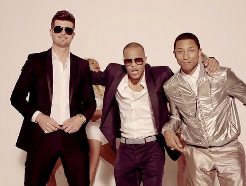 Blurred Lines Robin Thicke ft TI & Pharrell Williams