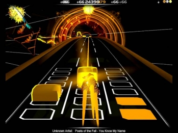 Let's Play Audiosurf: You Know My Name - Poets of the Fall