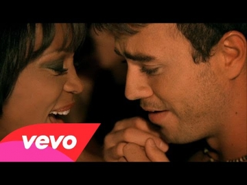 Whitney Houston with Enrique Iglesias - Could I Have This Kiss Forever