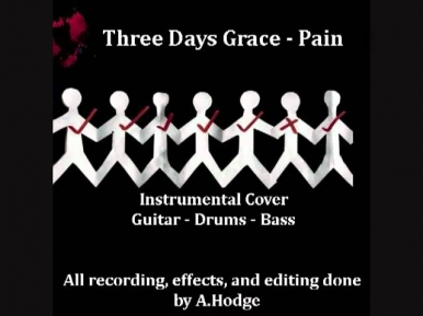 Three Days Grace Pain instrumental cover on 20250778