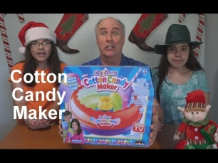 Cotton Candy Maker Review- As Seen On TV  | EpicReviewGuys in 4k CC