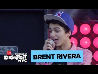 Brent Rivera | DigiFest NYC Presented by Coca-Cola