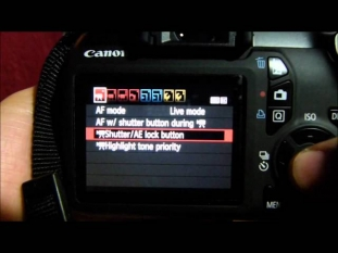 CANON T3 :Manual Expsoure in Video mode