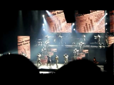 •Cirque du Soleil: Michael Jackson, The Immortal World Tour - They Don't Care About Us