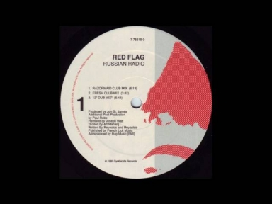 Red Flag - Russian Radio (Razormaid Club Mix) - 1989
