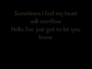 Hello (Glee Cast w/ Lyrics)