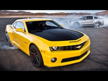 Chevrolet Camaro SS 1LE vs Ford Mustang GT Track Pack! - Head 2 Head Episode 25