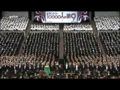 10000 singing Beethoven - Ode an die Freude _ Ode to Joy