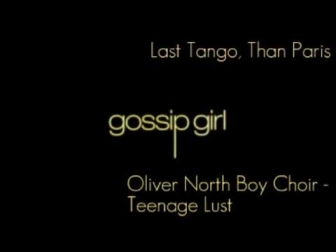 Oliver North Boy Choir - Teenage Lust