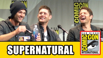 Supernatural Comic Con Panel - Jensen Ackles, Jared Padalecki, Misha Collins, Season 11