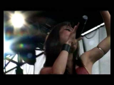 Krypteria - Scream (live @ SummerBreeze 2007)