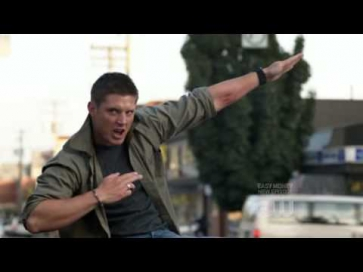 Supernatural Dean Singing Eye Of The Tiger FULL High Quality