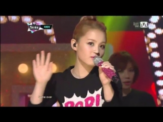이하이_1,2,3,4(1,2,3,4 by Lee HI@Mcountdown 2012.11.08)