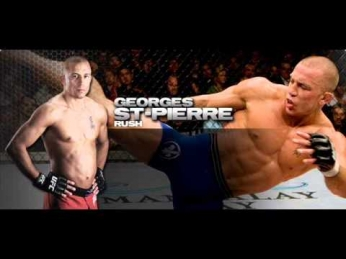 George St.  Pierre MMA Entrance