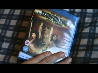 The Scorpion King 2 Rise Of A Warrior Blu-Ray Unboxing