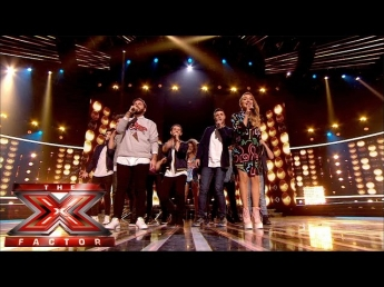 Group performance of Saturday Night's Alright (For Fighting) |Live Results Wk 7|The X Factor UK 2014